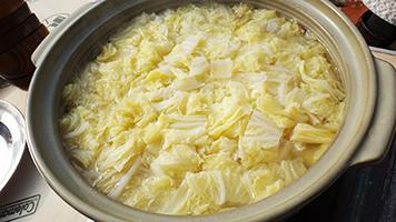 白菜たっぷりのピェンロー鍋